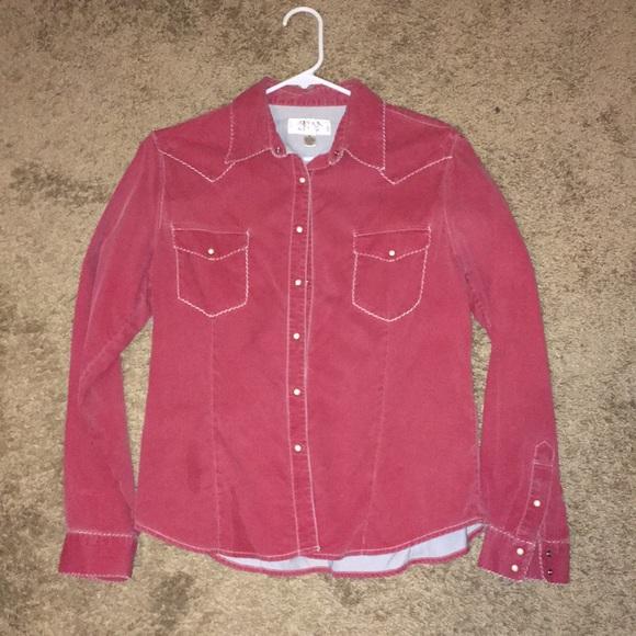 Ryan Michael Tops - Ryan Michael Pearl snap shirt.